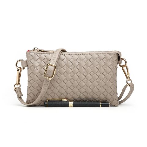 CROSS HATCH SMALL CROSSBODY SAND